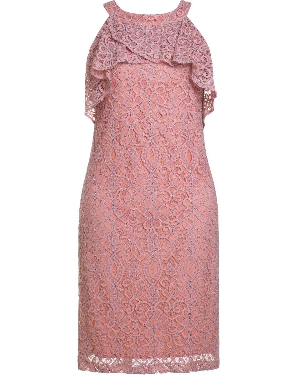 bdb3fd882e9c vestido feminino social em renda com detalhe decote seiki 28. Carregando  zoom.