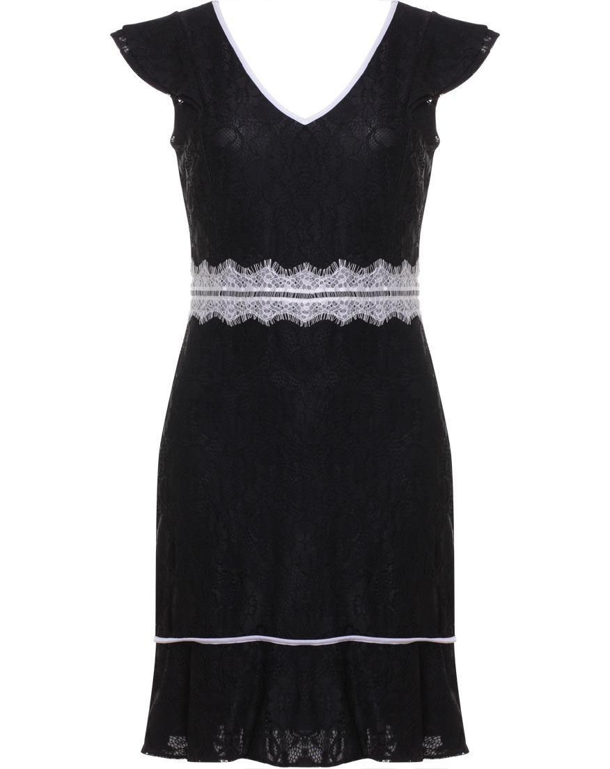 b5afe3e312 vestido feminino social em renda seiki branco com detalhe na. Carregando  zoom.