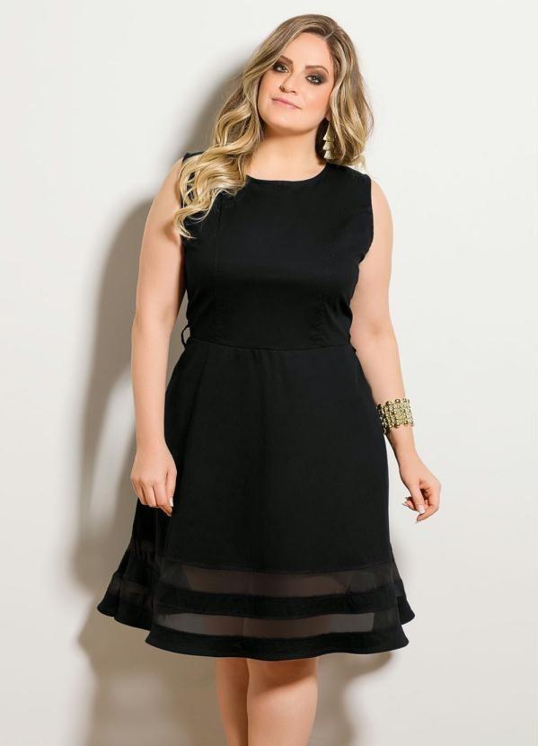 d78539a01 vestido feminino social festa sarja com elastano plus size. Carregando zoom.