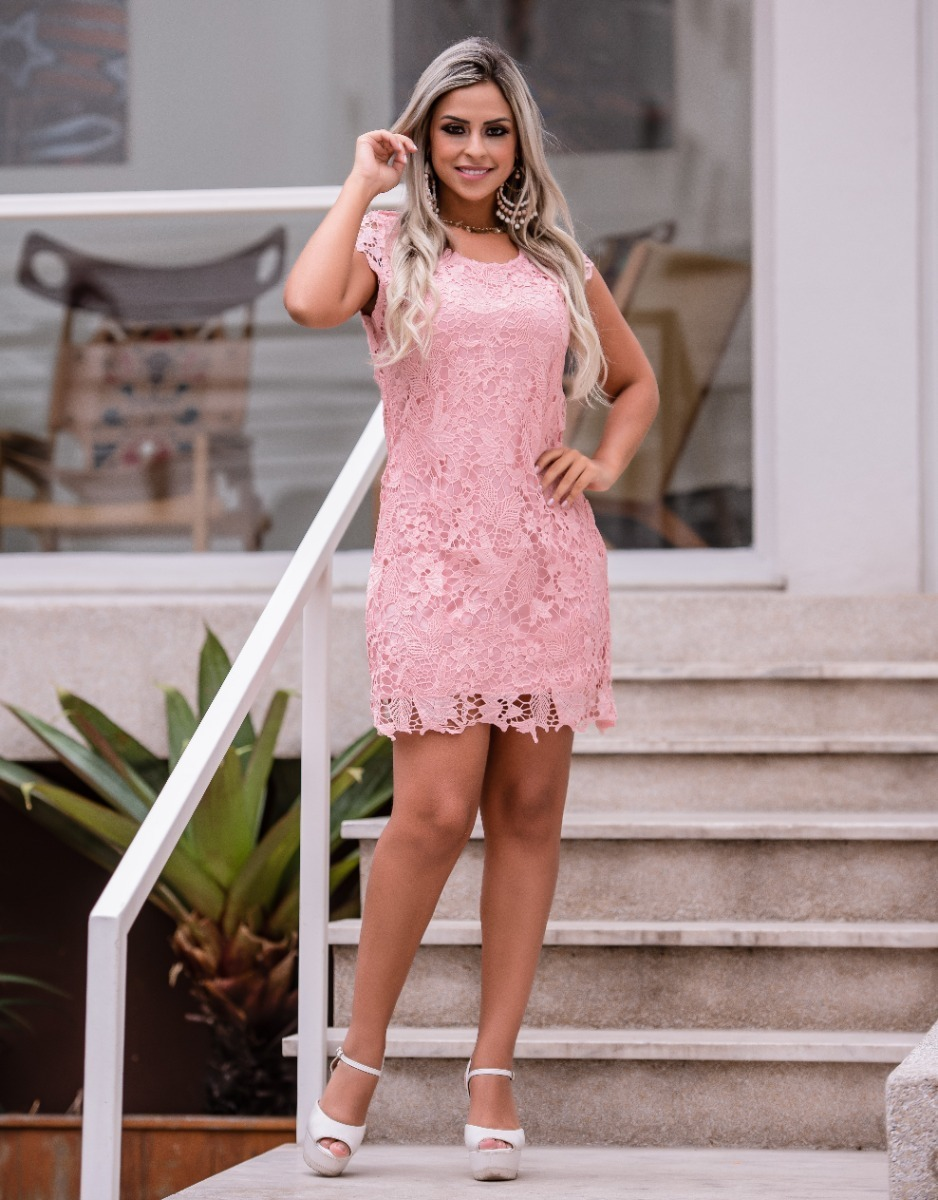 Vestidos Femininos Moda Evangélica Midi Estampado Prinçesa