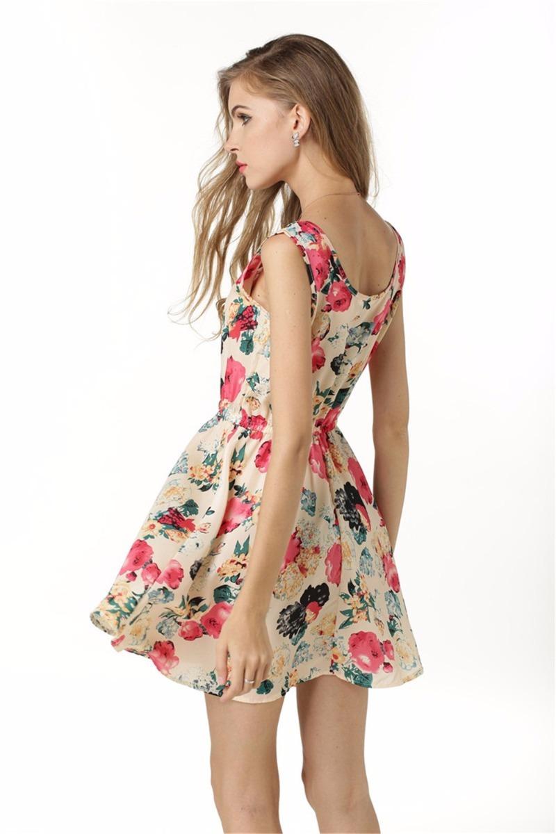 50cef0ca15 vestido feminino verão curto florido - pronta entrega. Carregando zoom.
