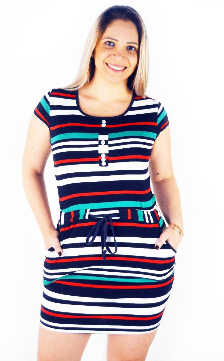 db1595c6ac vestido feminino verão listrado cores roupa feminina. Carregando zoom.