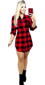 4a229411ae12 Vestido Chemise - Vestidos Femeninos com o Melhores Preços no Mercado Livre  Brasil