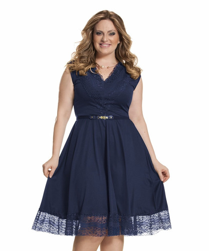 vestido festa #25 moda evangelica gospel renda plus size