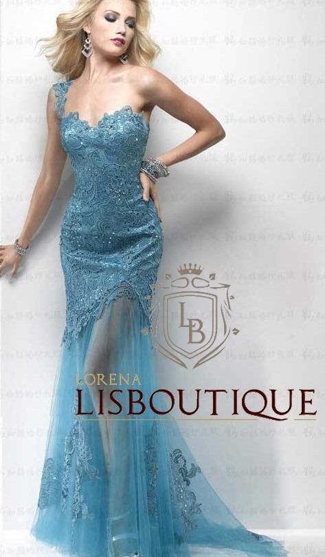724342190 vestido festa azul turquesa tiffany renda pronta entrega. Carregando zoom.