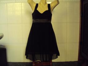 Vestido Curto Em Voal Vestidos Preto Com O Melhores Preços