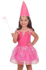 9349d39c0bf31e Vestido Festa Fantasia Infantil Mágica Fada Bailarina 2ao12