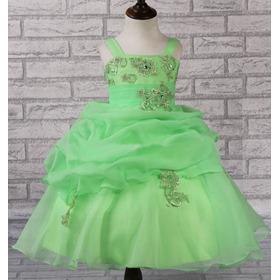 Vestido Festa Infantil Dama Florista Eventos Pronta Entrega
