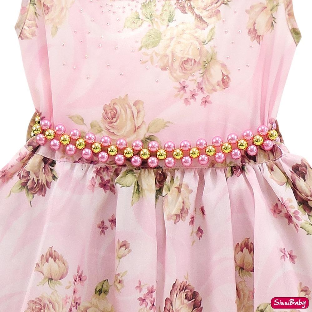 65fe783843c vestido festa infantil floral luxo formatura e frete grátis. Carregando  zoom.