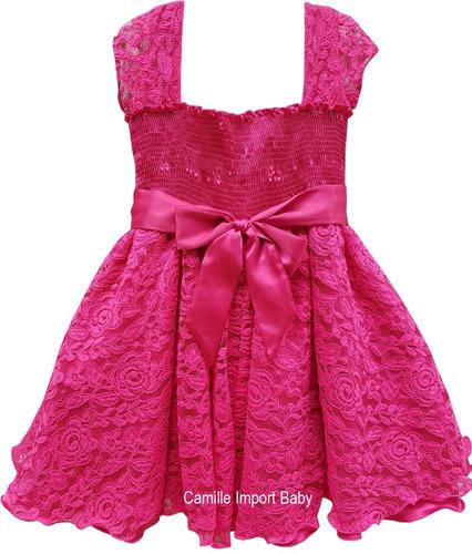 vestido festa infantil floral luxo jardim encantado promoção