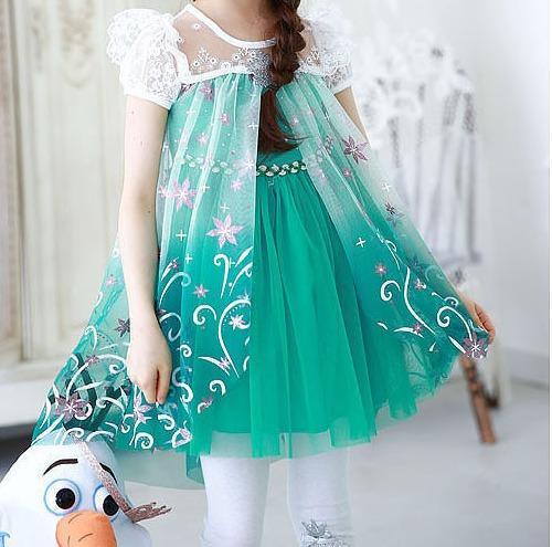 2b8ac5cdc Vestido Festa Infantil Frozen Elsa Ana Pronta Entrega - R$ 79,99 em ...