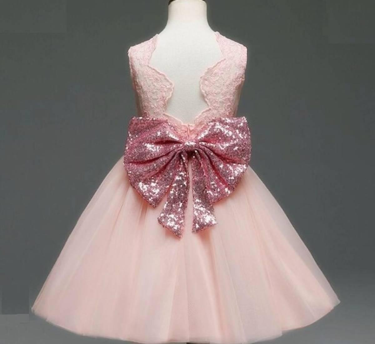 909c8597b7 vestido festa infantil renda luxo 1 a 2 anos com laço. Carregando zoom.