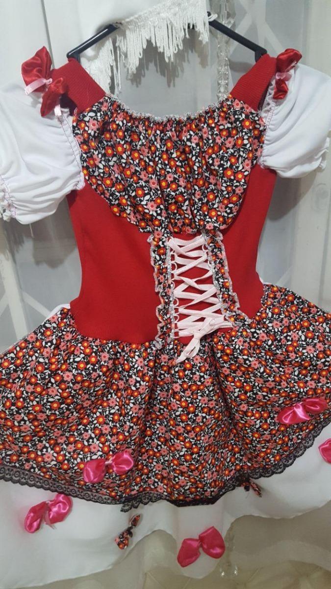 vestido festa junina agostina traje caipirinha luxo. Carregando zoom. 3e40541642a