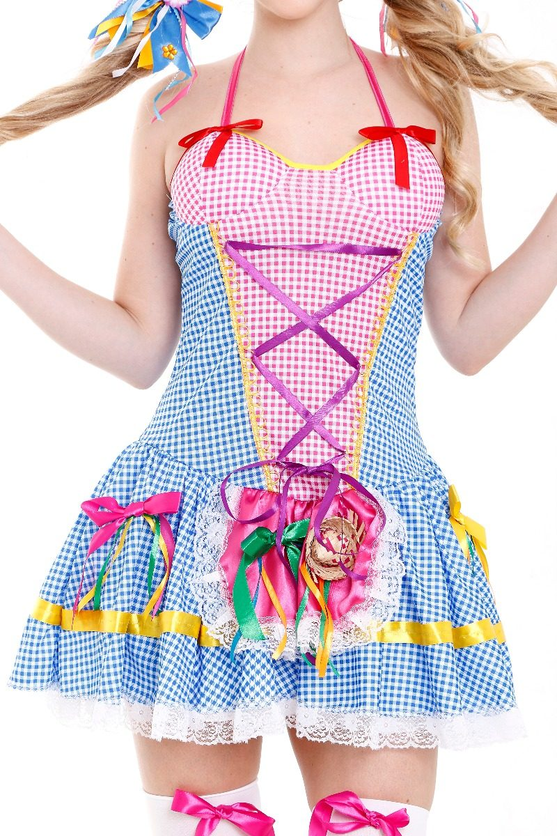 Vestido Festa Junina a17faaafe85