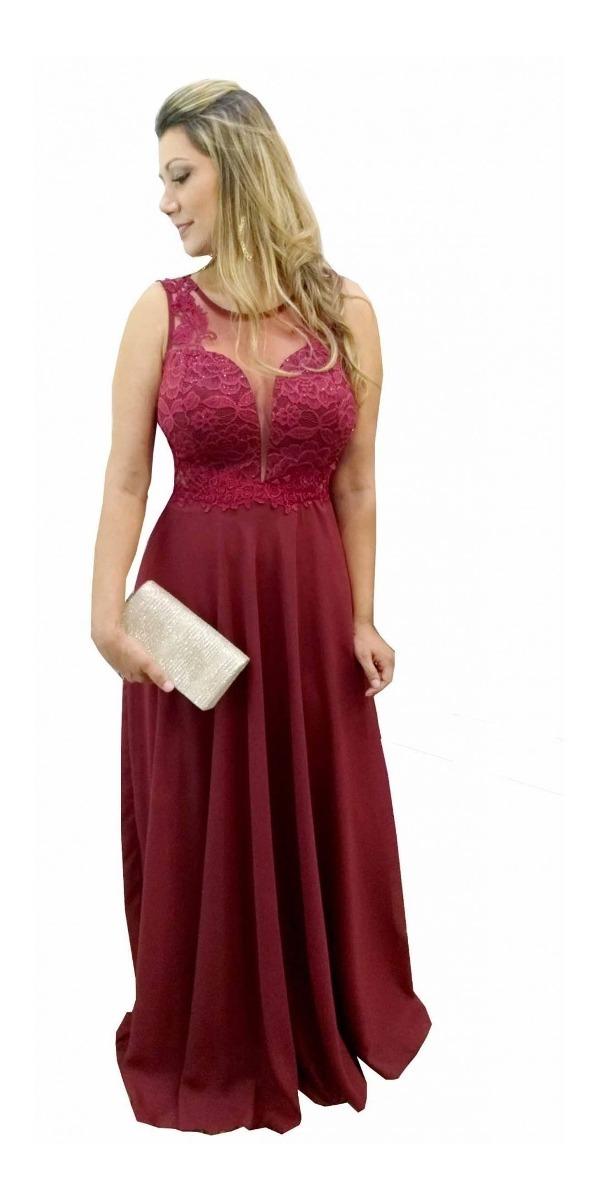 96652480c656 vestido festa lindo marsala madrinha formatura casamento. Carregando zoom.
