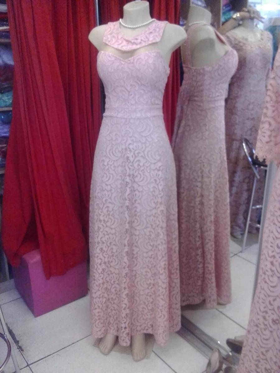 Vestidos longos para madrinha de casamento rosa