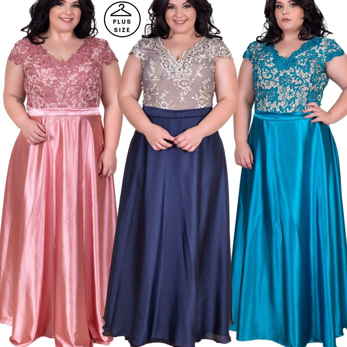 b2c8399fa35 vestido festa longo plus size sob medida ate 60 #midoranoiva. Carregando  zoom.