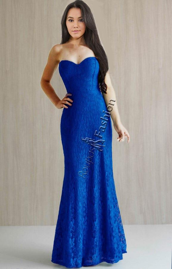 ceec13b71 vestido festa longo sereia renda & bojo formatura madrinha. Carregando zoom.
