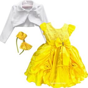 b33c3636924 Vestido Festa 1 Ano - Vestidos para Meninas Festa com o Melhores Preços no  Mercado Livre Brasil