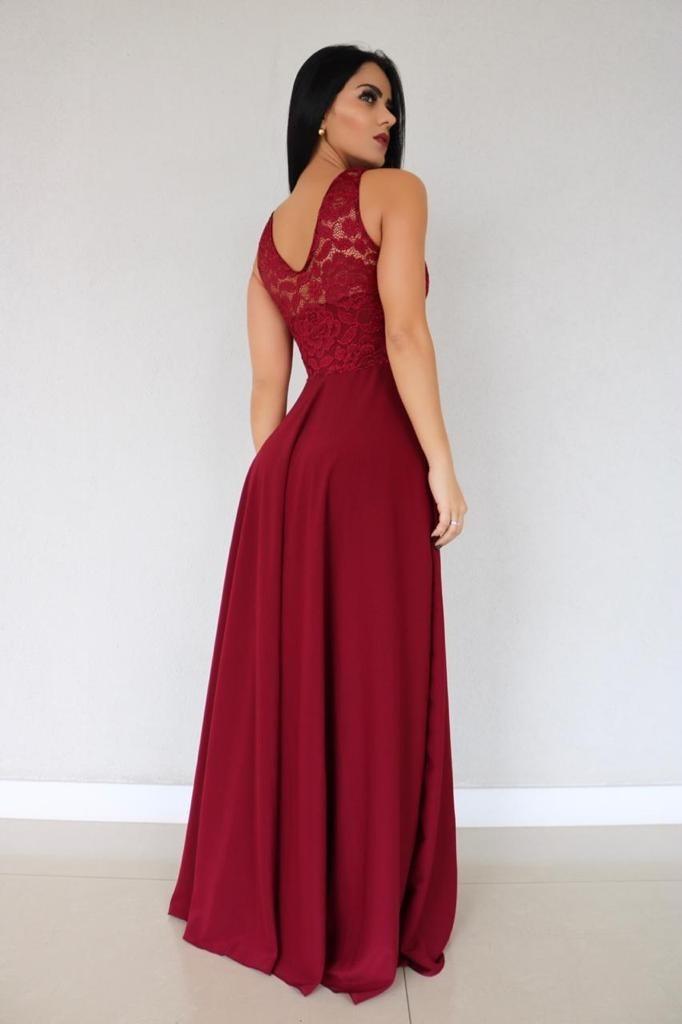 edca8bbc1213 vestido festa madrinha casamento saia soltinha até plus size. Carregando  zoom.