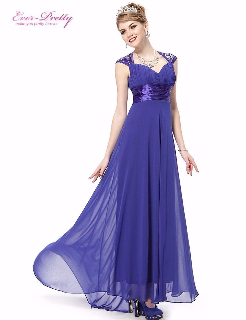 Vestido de festa para madrinha de casamento azul