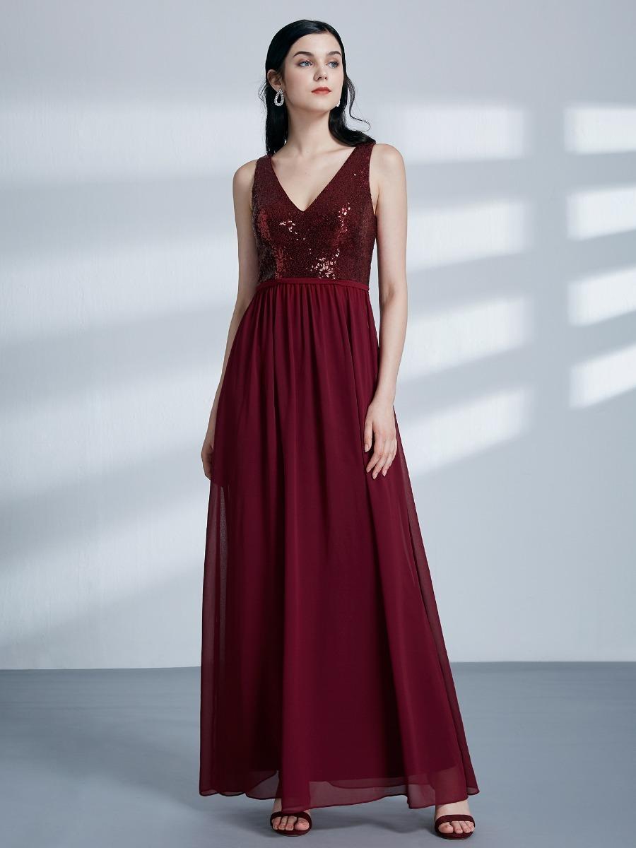35921ba82 vestido festa paetes importado longo ever pretty=m e g. Carregando zoom.