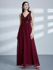 6c0d5b1c1 Vestido Longo Marsala Vinho - Vestidos Longos Femininas no Mercado Livre  Brasil
