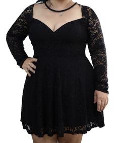fcfd5291b44f Vestido Plus Size Festa Luxo Curto - Vestidos Curto com o Melhores Preços  no Mercado Livre Brasil
