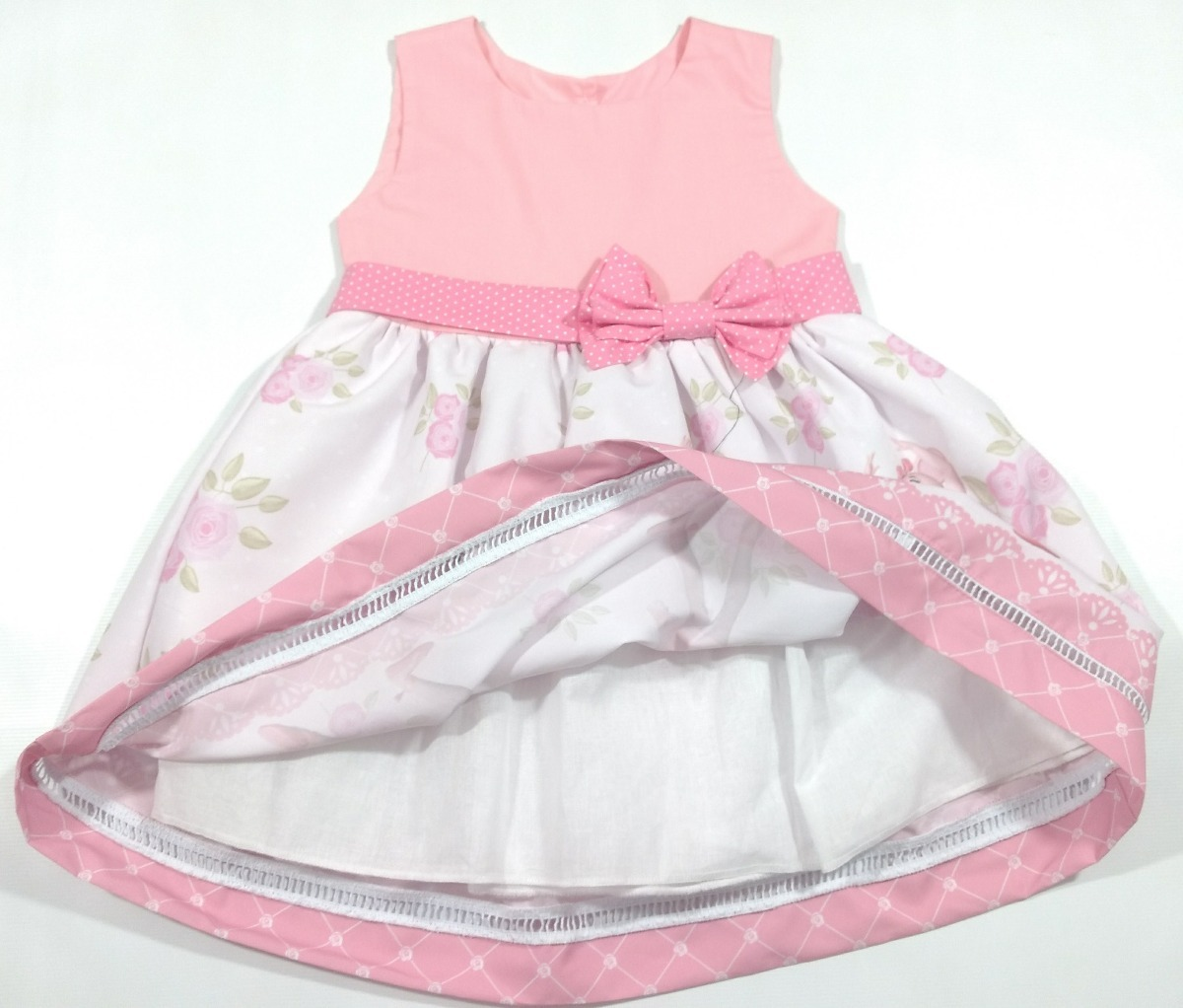 3534ebe4cb Vestido Festa Roupa Infantil Temático Angelina Bailarina - R$ 95,00 ...