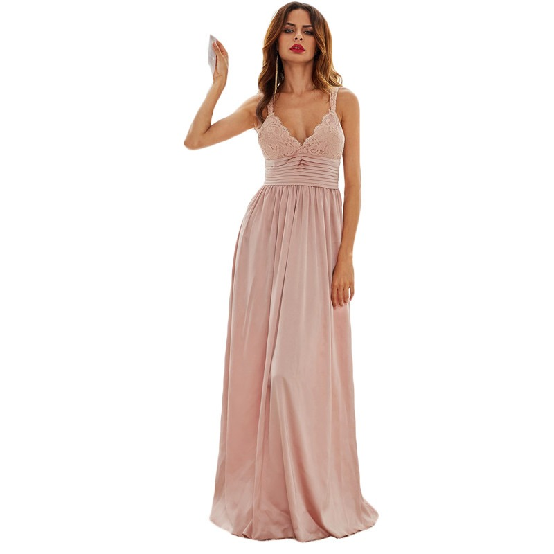 2fda7ebe0 vestido festa sexy top decote v plissado madrinha e gestante. Carregando  zoom.