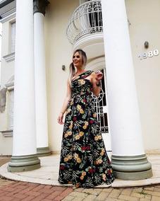 9e13486c43 Vestido Vinho Madrinha Festa - Vestidos Longos Femininas no Mercado Livre  Brasil