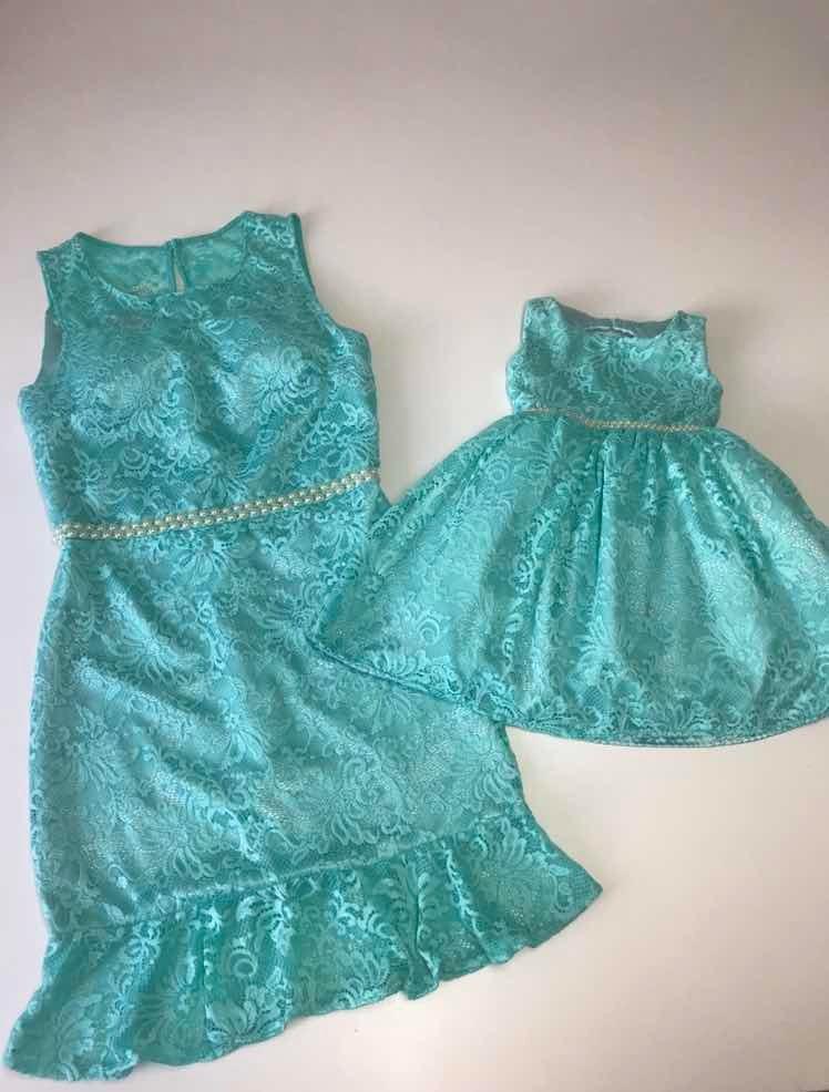 Vestido Festa Tiffany Tal Mãe Tal Filha Tam G Tam 1 Ano