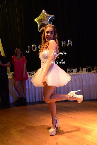 vestido fiesta 15 años novia madrina alta costura a medida