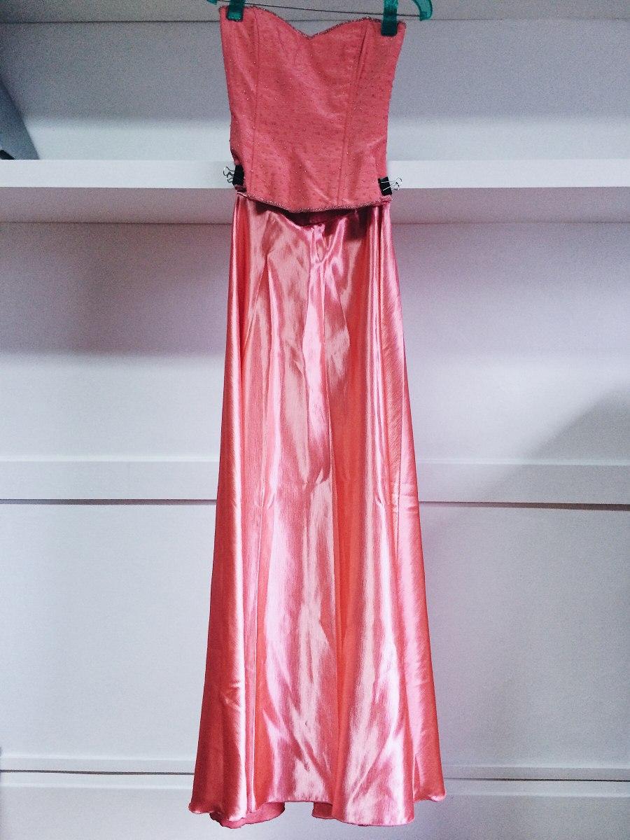Vestido Fiesta 15 Años Rosa Coral - $ 1.800,00 en Mercado Libre