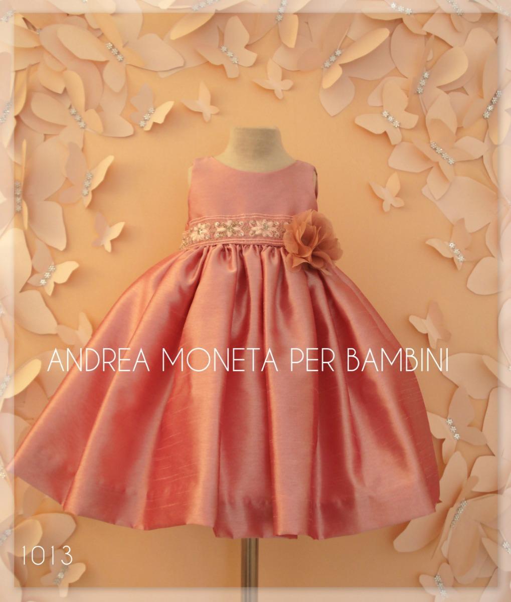 af6bdecd79 vestido fiesta bautismo rosa viejo bebe andrea moneta 1013. Cargando zoom.