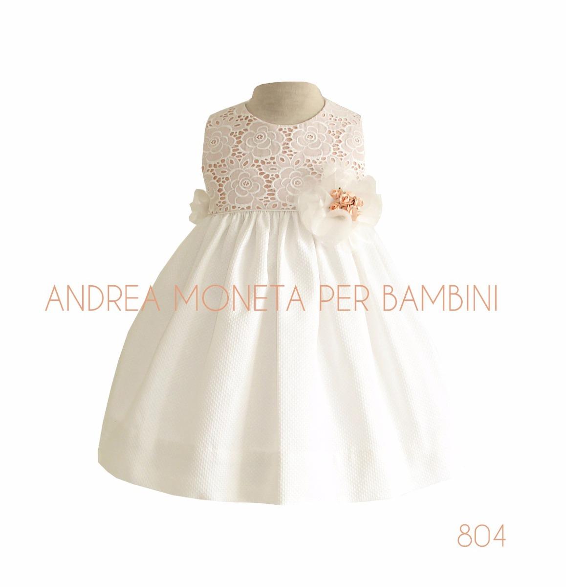 642eff6b9 vestido fiesta bebe nena blanco flores bautismo moneta 804. Cargando zoom.
