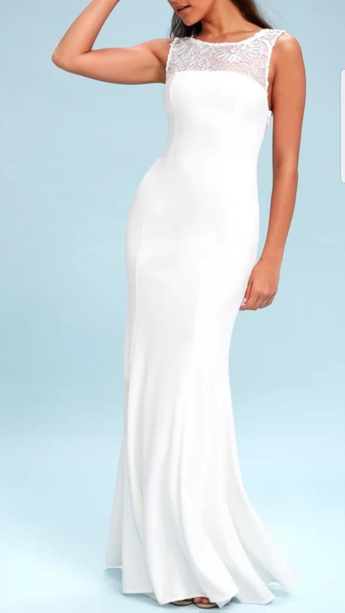 Imagenes vestidos de fiesta blancos