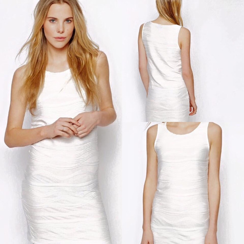 vestido fiesta blanco vila