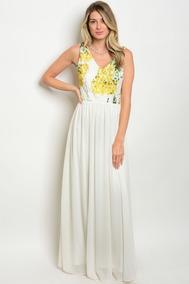 mejor sitio descuento mejor valorado amplia selección de colores Vestidos De Fiesta Mango - Vestidos de Mujer Largo Blanco en ...