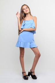 Vestidos De 2018 Accesorios Y Ropa Adolescente Celeste En Invierno mnv80wN