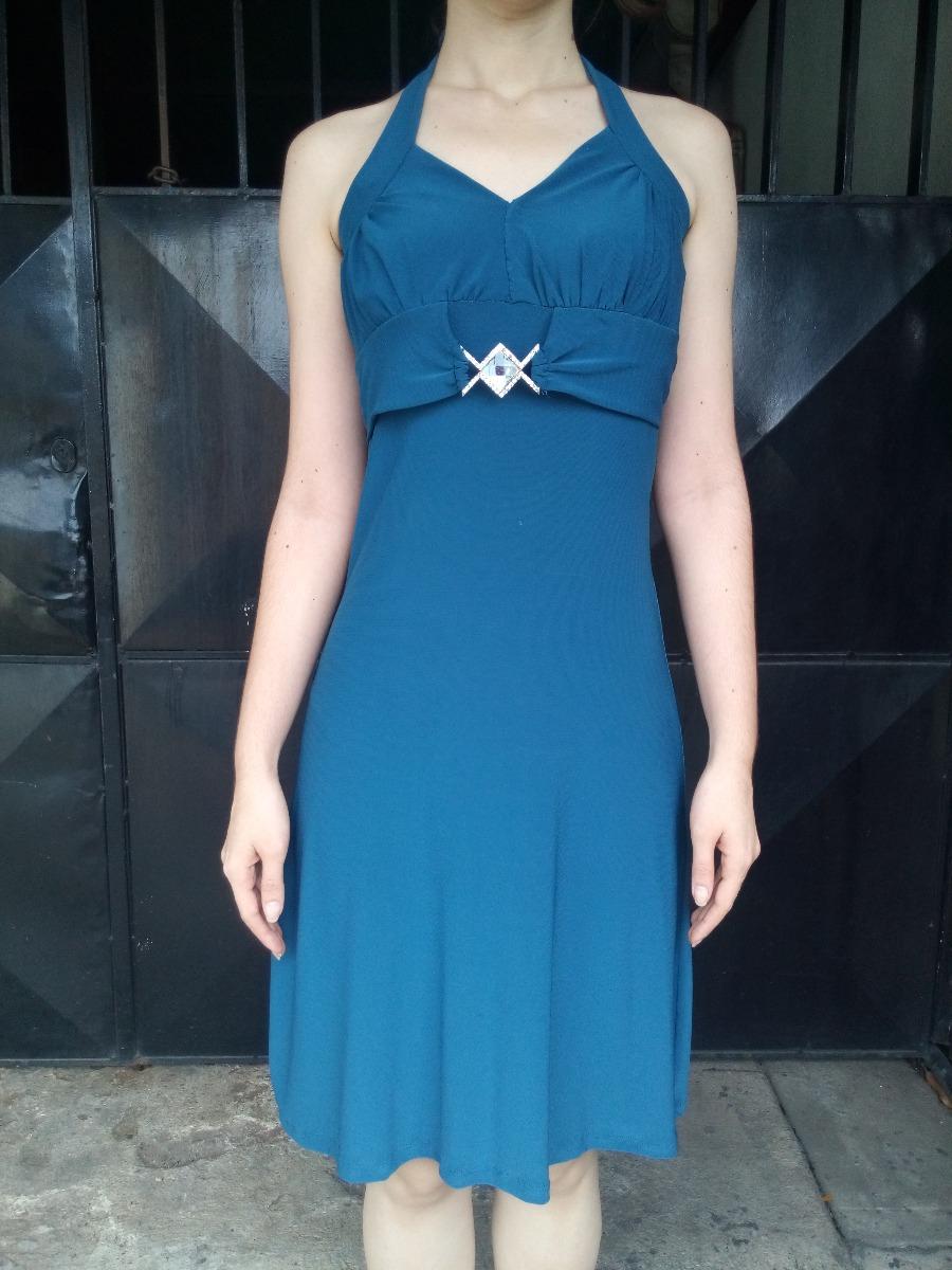 59877cd45 vestido fiesta corto dama azul marino. Cargando zoom.