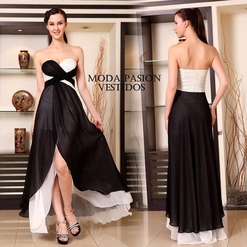 vestido fiesta corto largo importados egresadas moda pasión