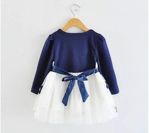 vestido fiesta de bebe niña 6 meses a 24 meses