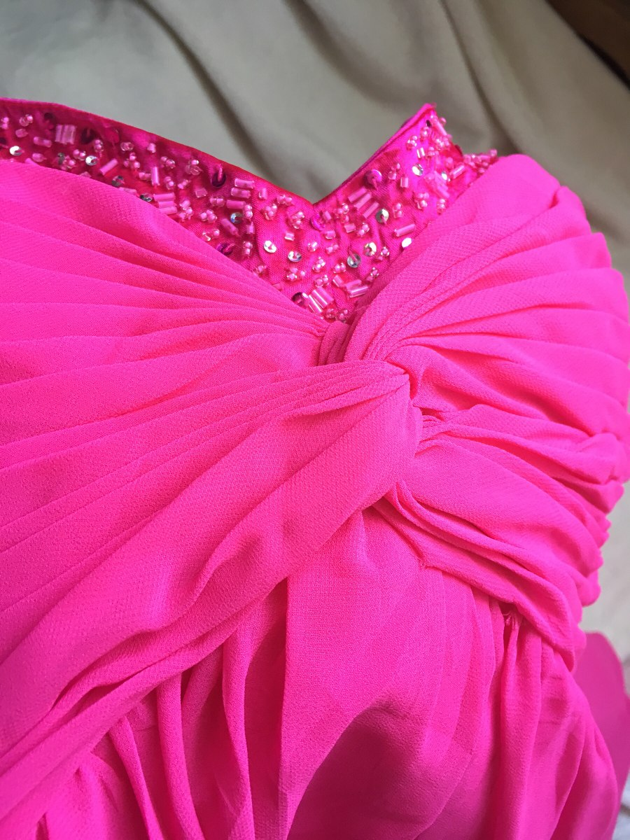 Vestido Fiesta Diseñador David\'s Bridal - $ 650.00 en Mercado Libre