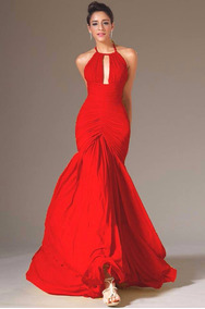Vestidos Fiesta Largo 2017 Mujer De Largos Rojo En uXiwZTOPkl