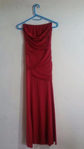 vestido fiesta elegante rojo