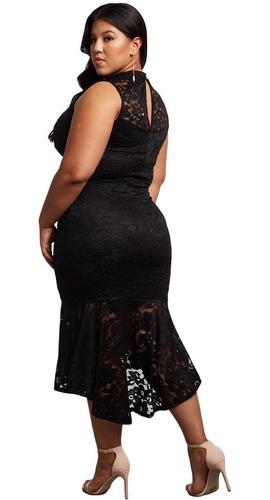 vestido fiesta elegante talla extra xl al 4xl envìo gratis