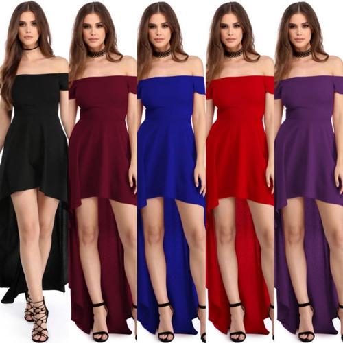 vestido fiesta elegante talla grande variedad nuevo stock