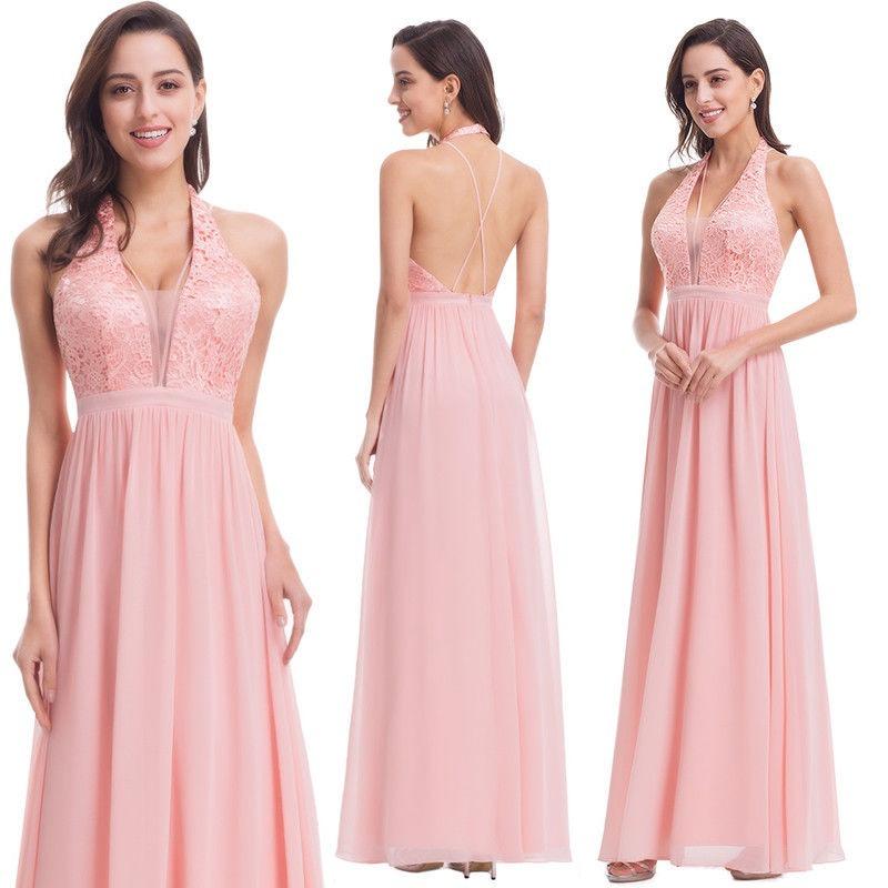 cb95623838 vestido fiesta escote y espalda descubierta moda pasión. Cargando zoom.