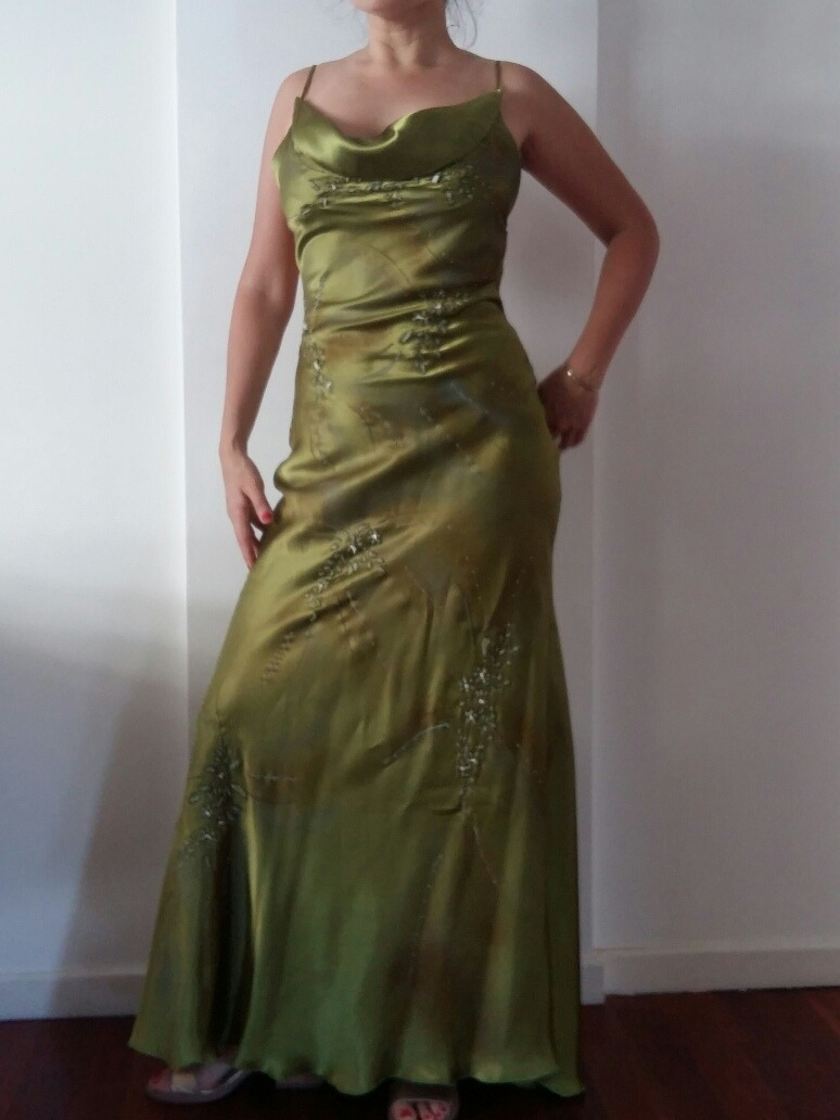 5ca9ae20cf vestido fiesta graduación casamiento alta costura. Cargando zoom.